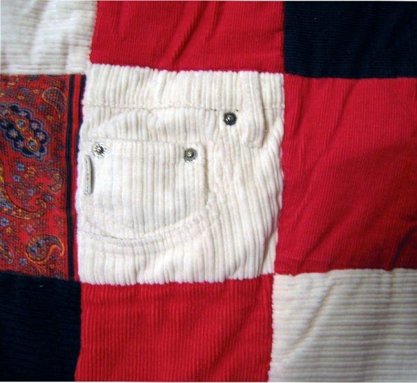 Blanket Corduroy Detail 2