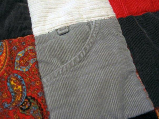Blanket Corduroy Detail