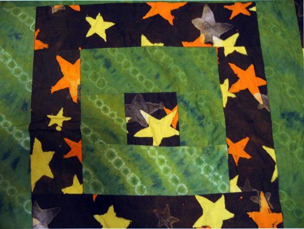 Blanket Stars Detail 2