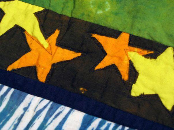 Blanket Stars Detail