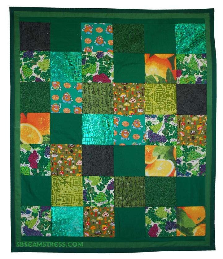 Green-Baby-Blanket