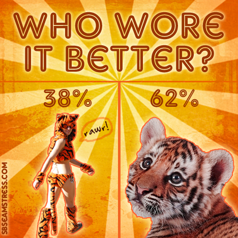 Who Wore it Better? Tiger vs Tiger