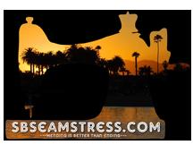 Santa Barbara Seamstress Logo