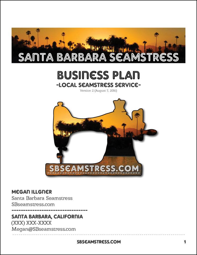 Santa-Barbara-Seamstress-Business-Plan-Cover